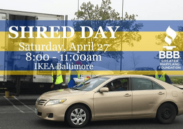 IKEA BBB Shred Day 2019