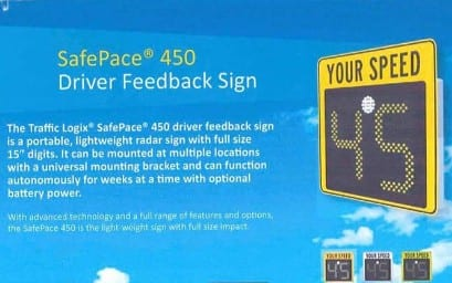 Driver Feedback Sign