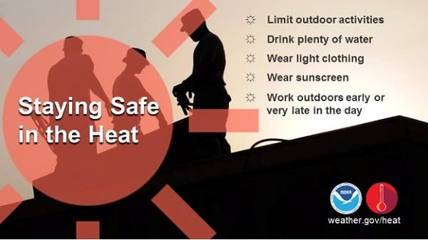 Heat Wave Cooling Tips