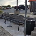 Belair Road Rossville Bench