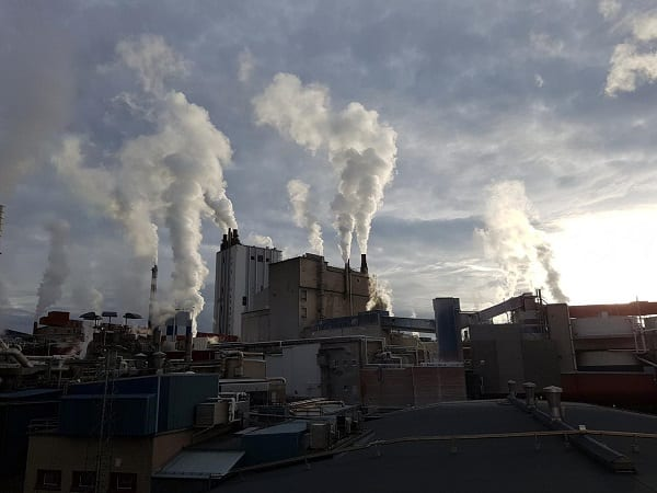 Factory Industrial Pollution