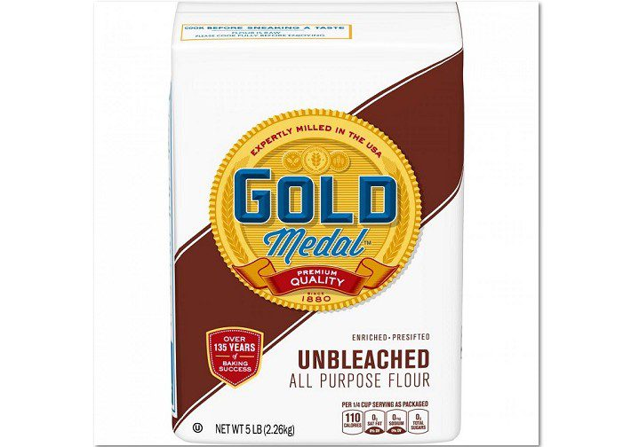 Gold Medal Unbleached Flour 5lb Bag