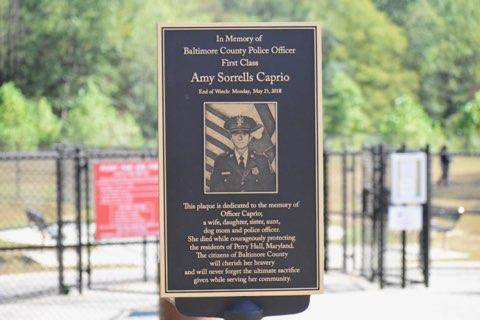Amy Caprio Plaque Perry Paw