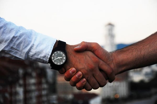 Deal Agreement Shaking Hands