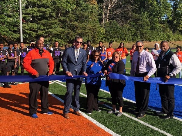 Overlea High School Turf Field Ribbon Cutting