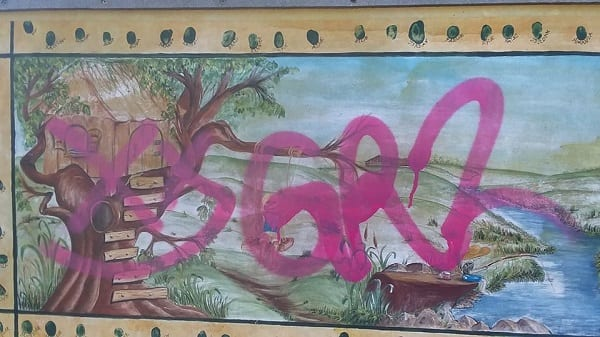 Annies Playground Graffiti