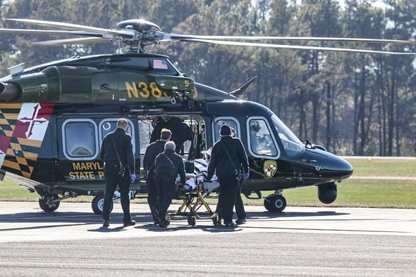 Maryland State Police Aviation Helicopter Medevac