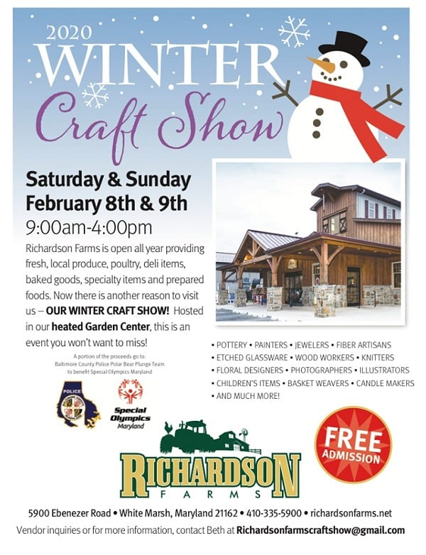 Richardson Farms Winter Craft Show 2020