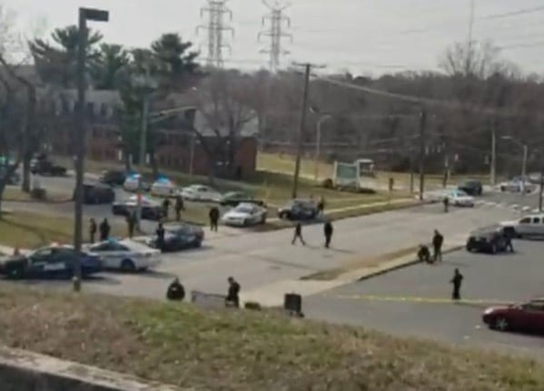 U.S. Marshals Shot in Baltimore