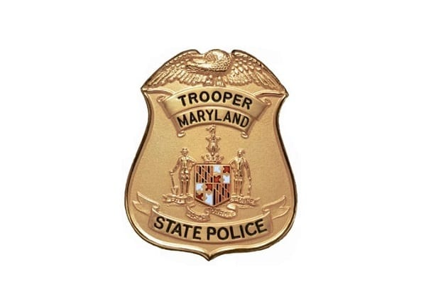 Maryland State Police Badge Shield