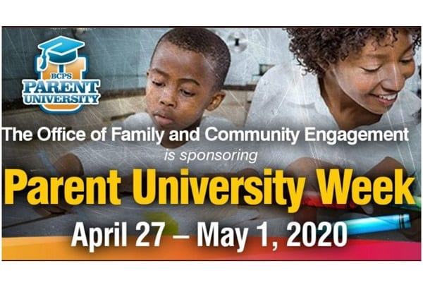 BCPS Parent University Week 2020