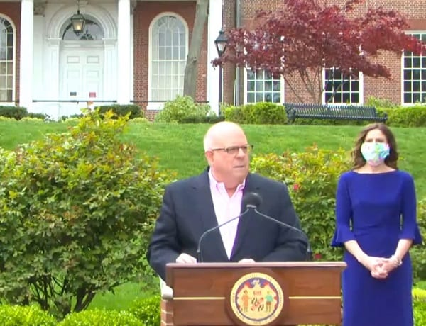 Governor Larry Hogan 20200417