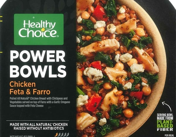 Healthy Choice Frozen Chicken Bowl