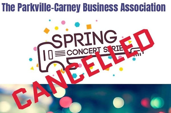PCBA Spring Concert Series 2020 Cancelled
