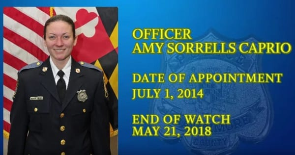Officer Amy Caprio BCoPD Tribute