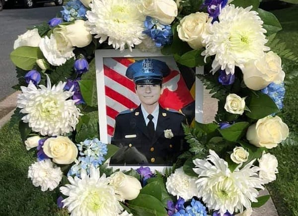 Officer Amy Caprio Memorial Flowers