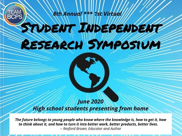 BCPS Independent Research Symposium 2020