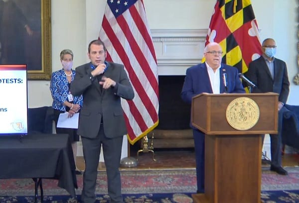 Governor Larry Hogan Maryland Update 20200610