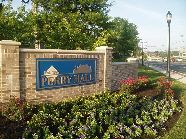 Perry Hall Sign