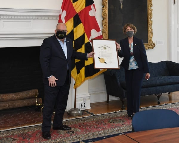 Governor Larry Hogan 30th Anniversary Americans with Disabilities Act 1