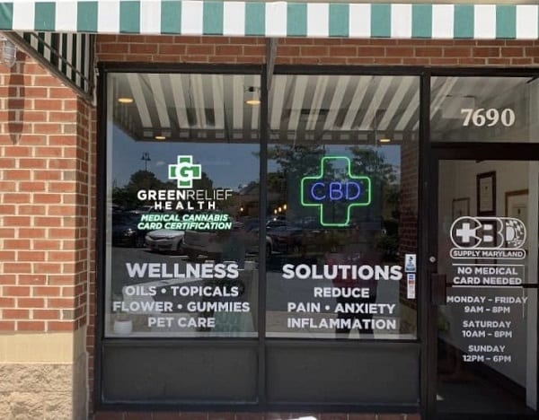 Green Relief Health Belair Beltway Plaza
