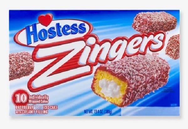 Hostess Raspberry Zingers