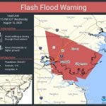 NWS Flash Flood Warning NottinghamMD 20200812