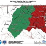 NWS Tropical Storm Warning Maryland 20200803