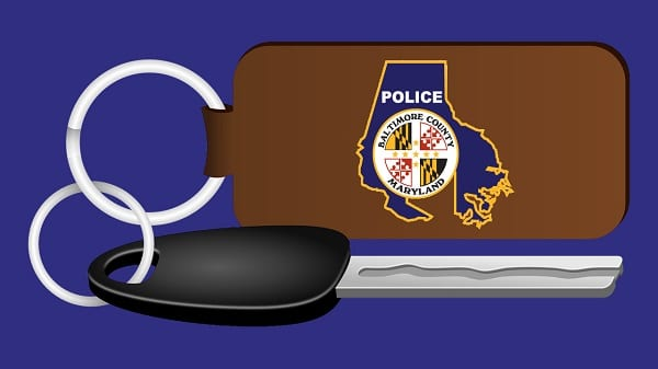 Baltimore County Police Department Auto Car Keys Theft