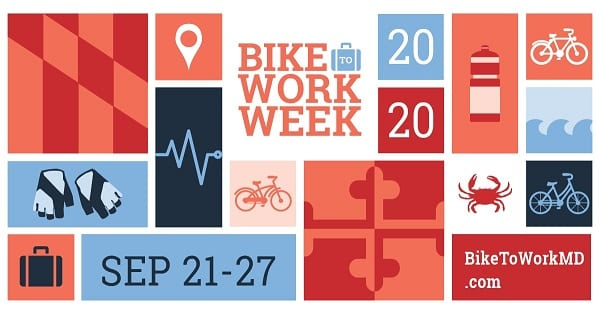 Bike to Work Week MD 2020