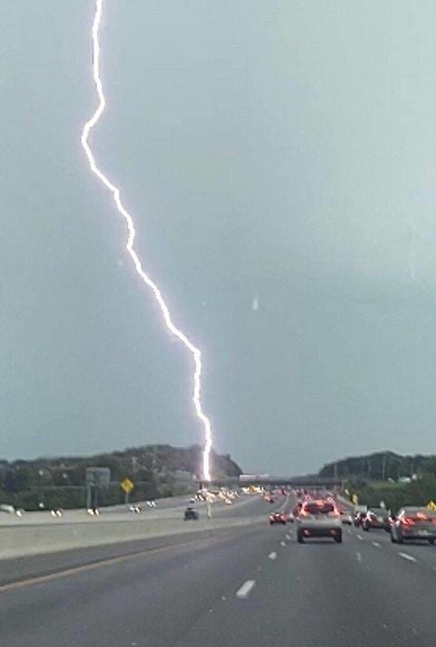 White Marsh Lightning Strike 202009