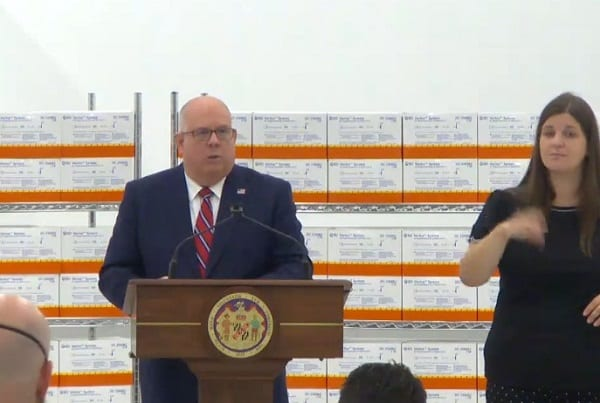 Governor Larry Hogan Announcement 20200910