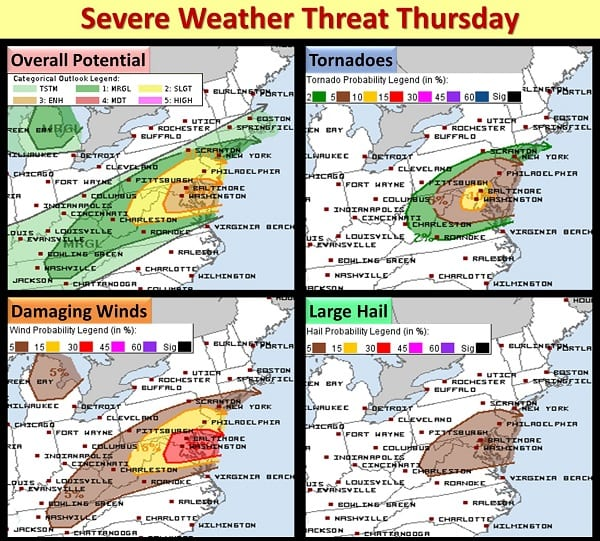 NWS Eastern Severe Weather Threat 20200903