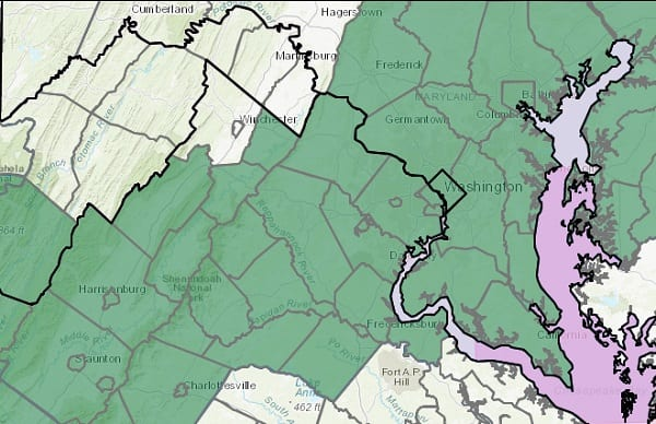 NWS Flood Watch Maryland 20201028