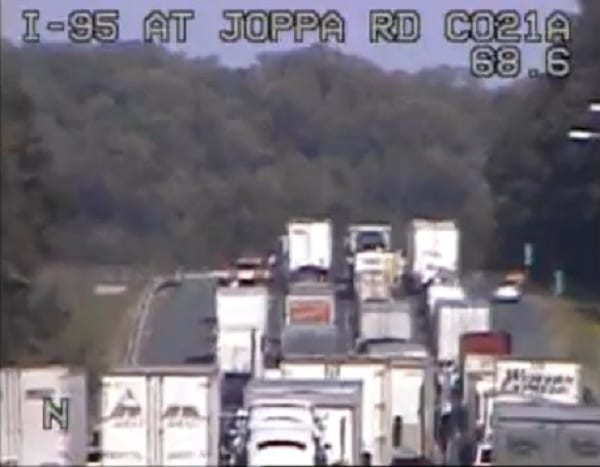 White Marsh Crash I-95 20201015