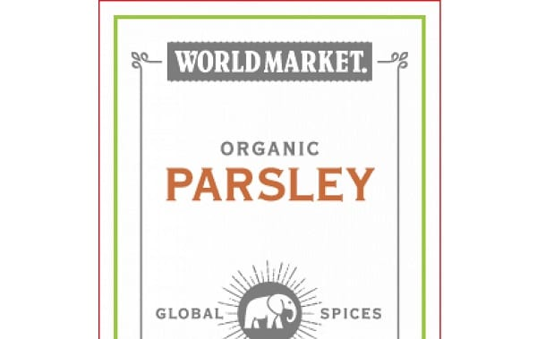 World Market Organic Parsley