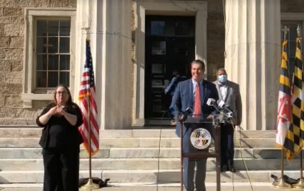Baltimore County Press Conference 20201113