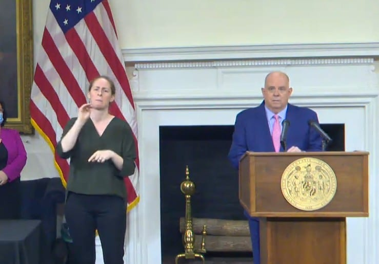 Governor Hogan Update 20201112
