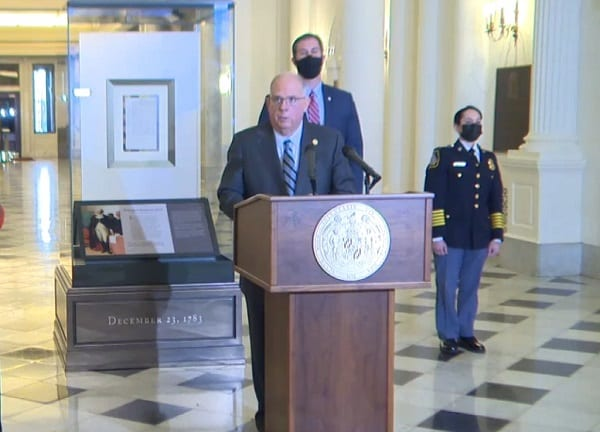 Governor Hogan Update 20201123