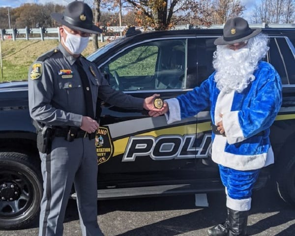 MDTA Police Toys for Tots 2020