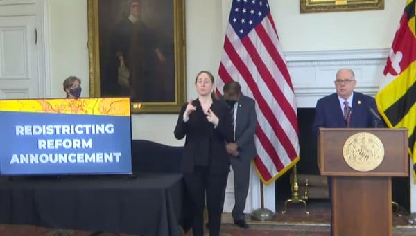Governor Hogan Redistricting Reform Announcement 20210112