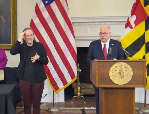 Governor Larry Hogan Maryland COVID Update 20210223