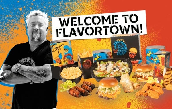 Guy Fieri Welcome to Flavortown