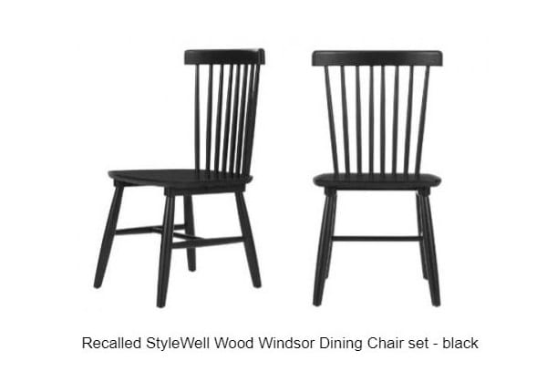 Home Depot Wood Windsor Dining Chair Sets