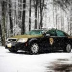 Maryland State Police Snow