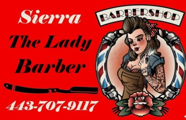 Sierra the Lady Barber