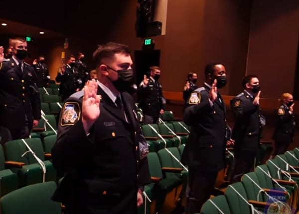 Baltimore County Police Department Graduation 20210312