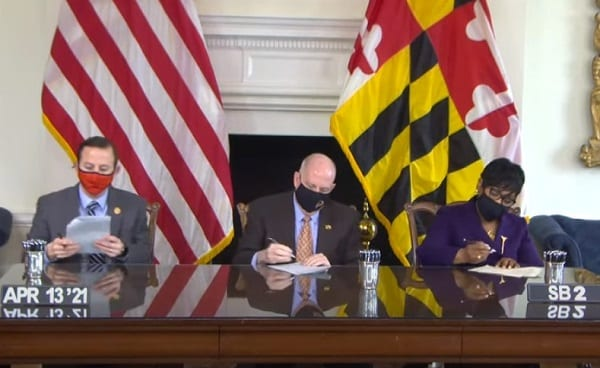 Governor Hogan Bill Signing 20210413