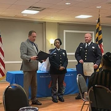 David Marks Parkville Officer of the Year 2019 2020