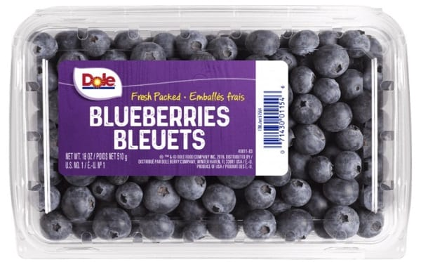 Dole Blueberries Recall 20210626a